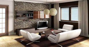 Menentukan Letak Dan Harga Wallpaper Dinding 3d Ruang Tamu Anda