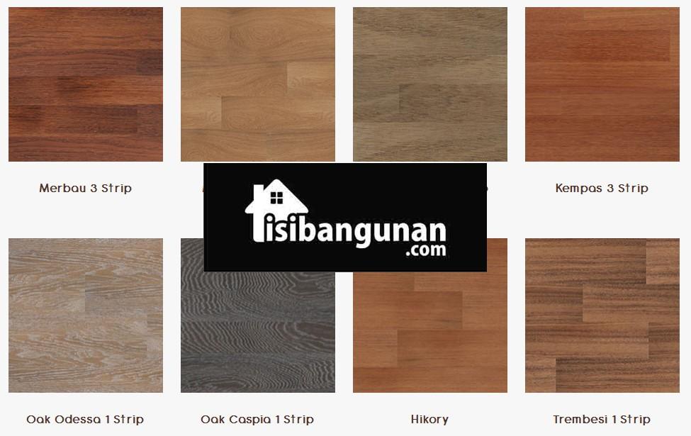 jenis stiker lantai motif kayu vinyl