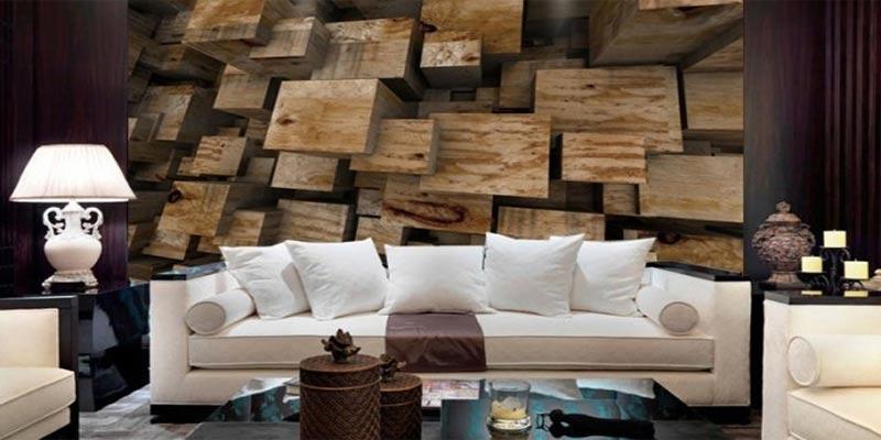 Bosan Pakai Wallpaper Biasa? Pakai Wallpaper 3D Untuk Dinding Rumah Saja