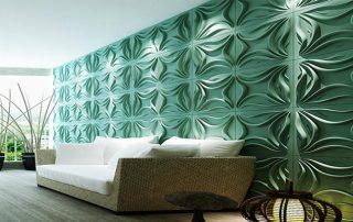 Harga Panel Dinding Dekoratif Dengan Tampilan 3 Dimensi