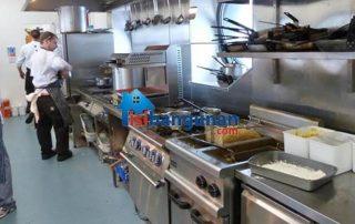 Jual Lantai Kayu Vinyl Murah Untuk Dapur Restoran