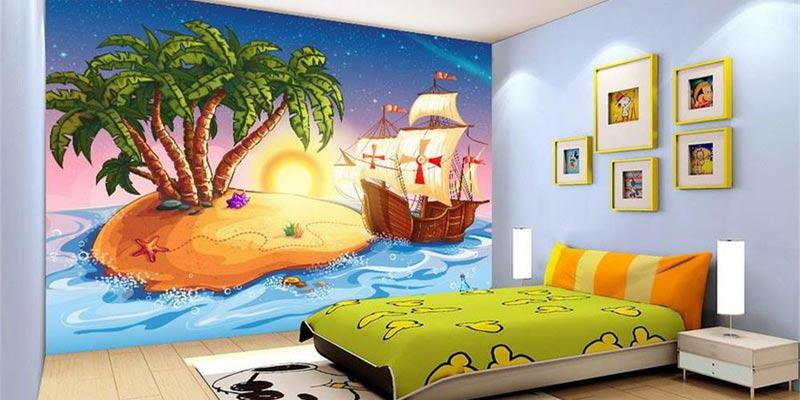 Pilihan Beragam Harga Wallpaper Dinding 3d Kamar Tidur Anda