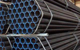 Pipa Baja Hitam - Super Steel Pte Lte