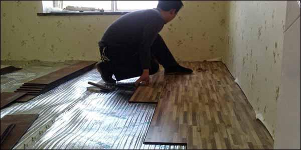 Cara Memasang Lantai Kayu Vinyl