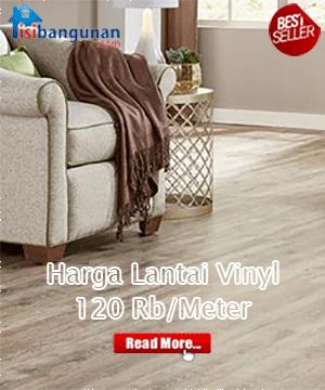 Harga Vinyl Lantai Import, Rp.120/Meter