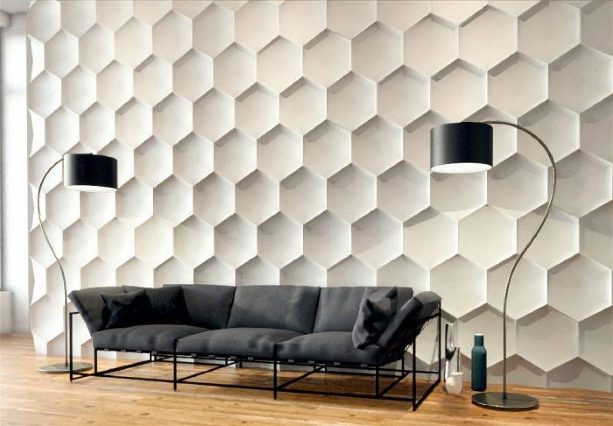Wallpaper Dinding 3D Dekorasi Mewah Untuk Interior Anda