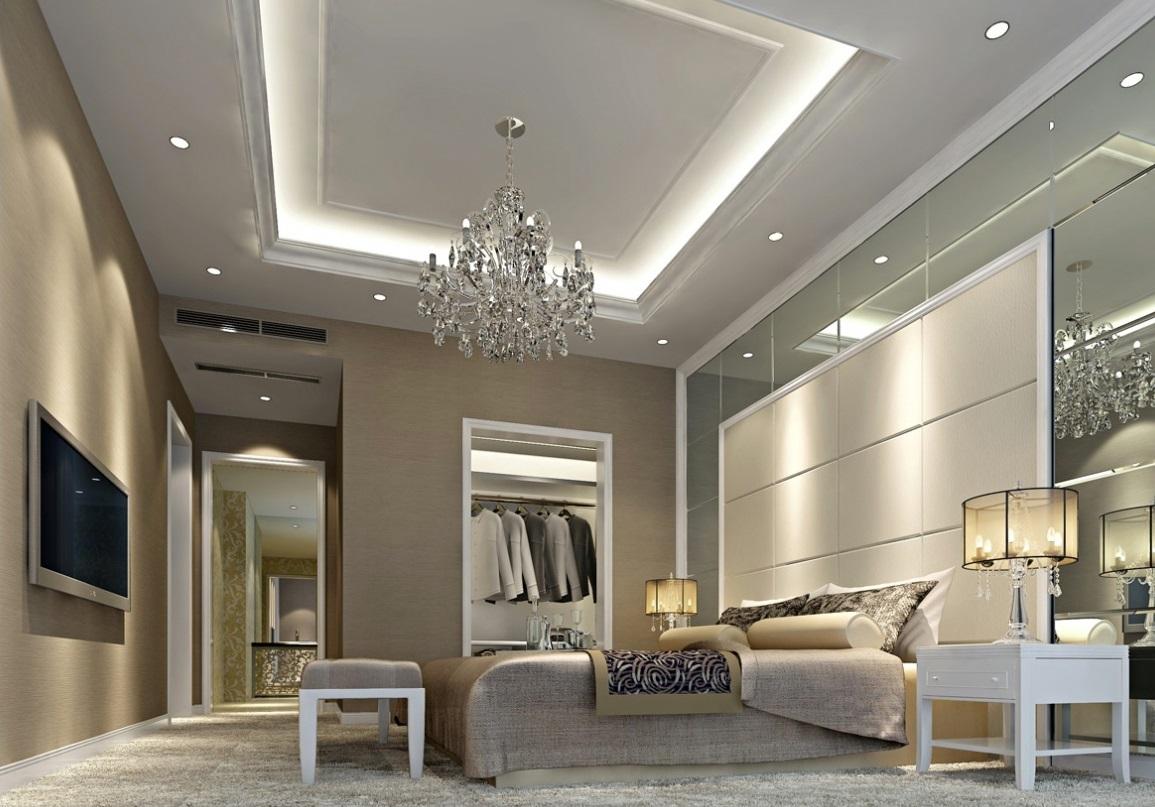 Sesuaikan plafon dengan konsep desain ruangan - 5 Tips Memilih Plafon Kamar agar Tidur Lebih Berkualitas