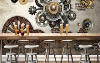3D wall panels - 3D Wall Panels yang Tepat untuk Interior Kafe Supaya Terlihat Instagrammable - wallpapergordyn.com
