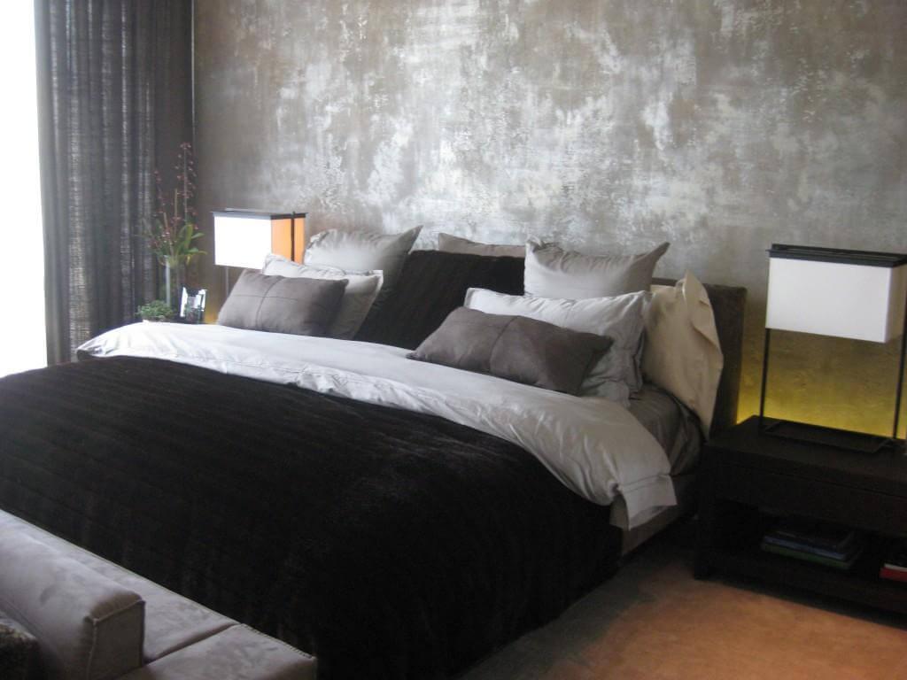 Garis vertikal abu-abu - Suka Desain Minimalis? Coba Pasang 5 Motif Wallpaper Dinding Kamar Tidur Ini! - lifescienceonline.net