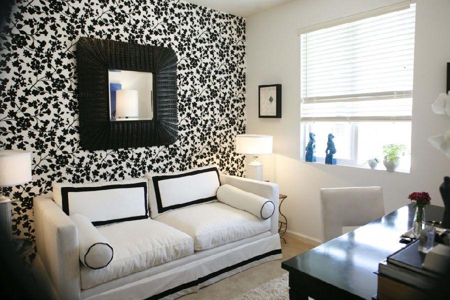 Pilih warna yang sesuai dengan furnitur di ruangan tersebut - Wallpaper Dinding Ruang Tamu Terbaik di Jakarta - avso.org