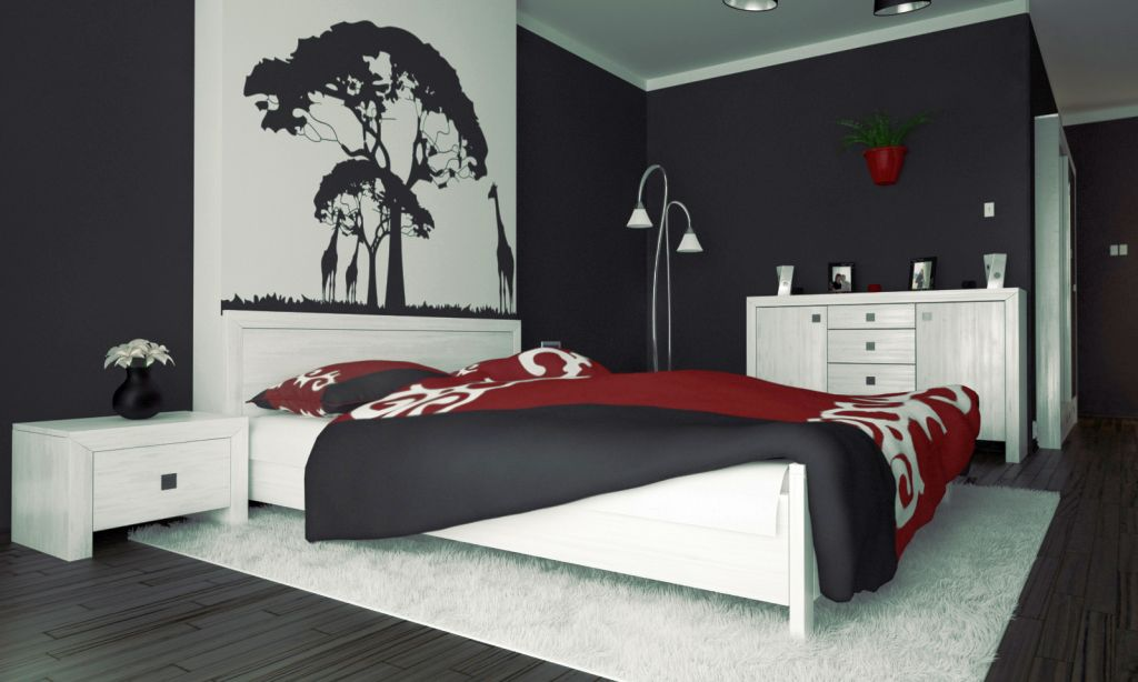 Tampil beda dengan brushstroke - Suka Desain Minimalis? Coba Pasang 5 Motif Wallpaper Dinding Kamar Tidur Ini! - impa.co.za