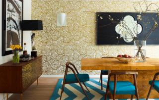 wallpaper dinding murah - Tips Mendapatkan Motif Wallpaper Dinding Murah yang Sesuai dengan Ruangan - Freshome.com