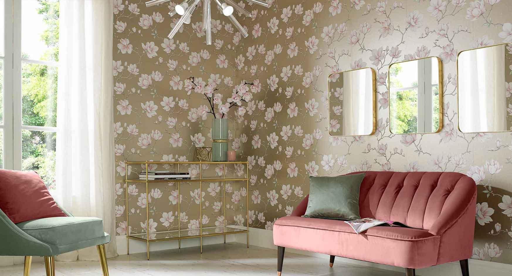 Tren Motif Wallpaper Dinding Minimalis di Tahun 2018 - 15 Tips Memilih Motif Wallpaper Dinding untuk Rumah Minimalis Modern - grahambrown.com