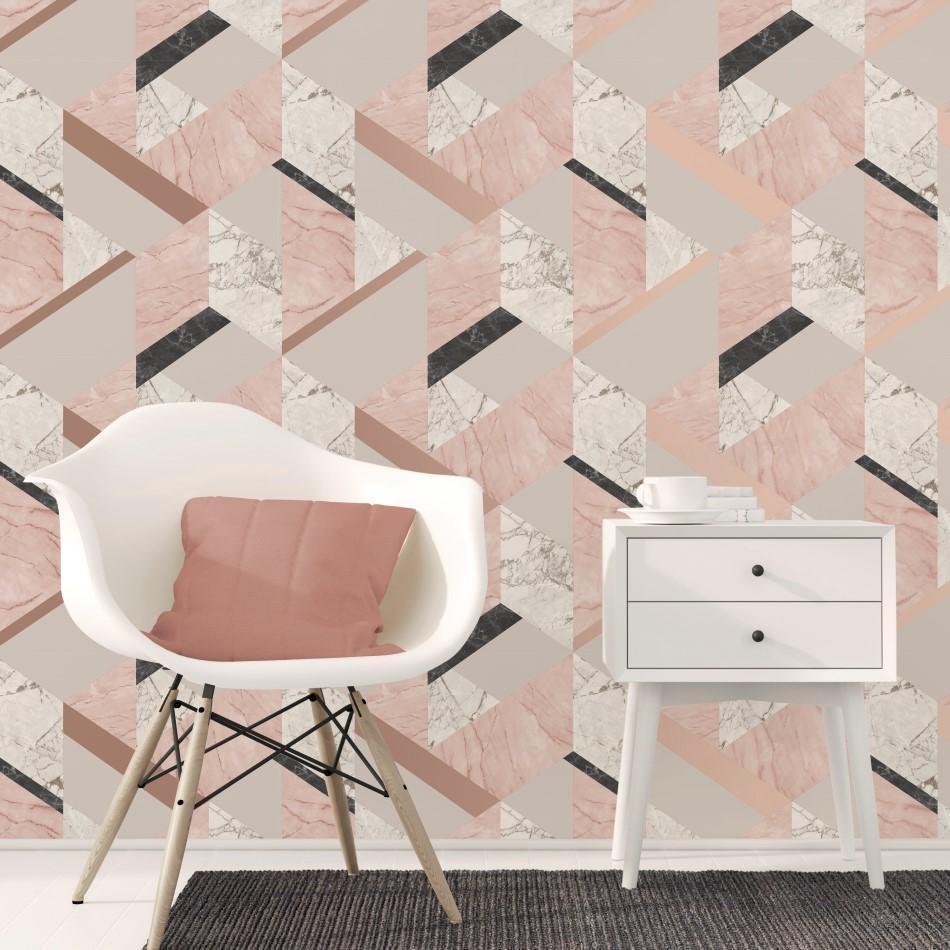 Wallpaper vinyl - 5 Model Wallpaper 3D Dinding yang Cocok untuk Ruang Kantor Modern - lancashirewallpaper.co.uk