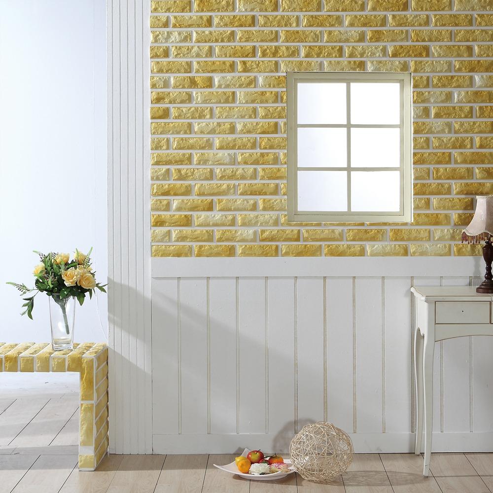 Foam Brick Menciptakan Tampilan Menarik Dengan Motif Alami