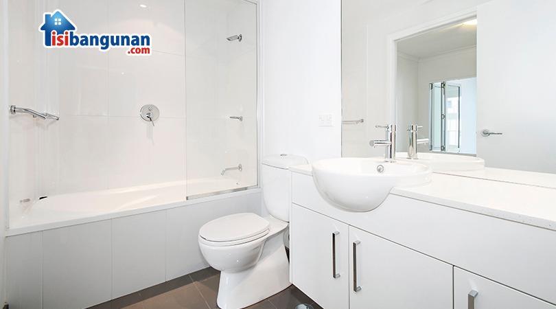wallpaper dinding kamar mandi