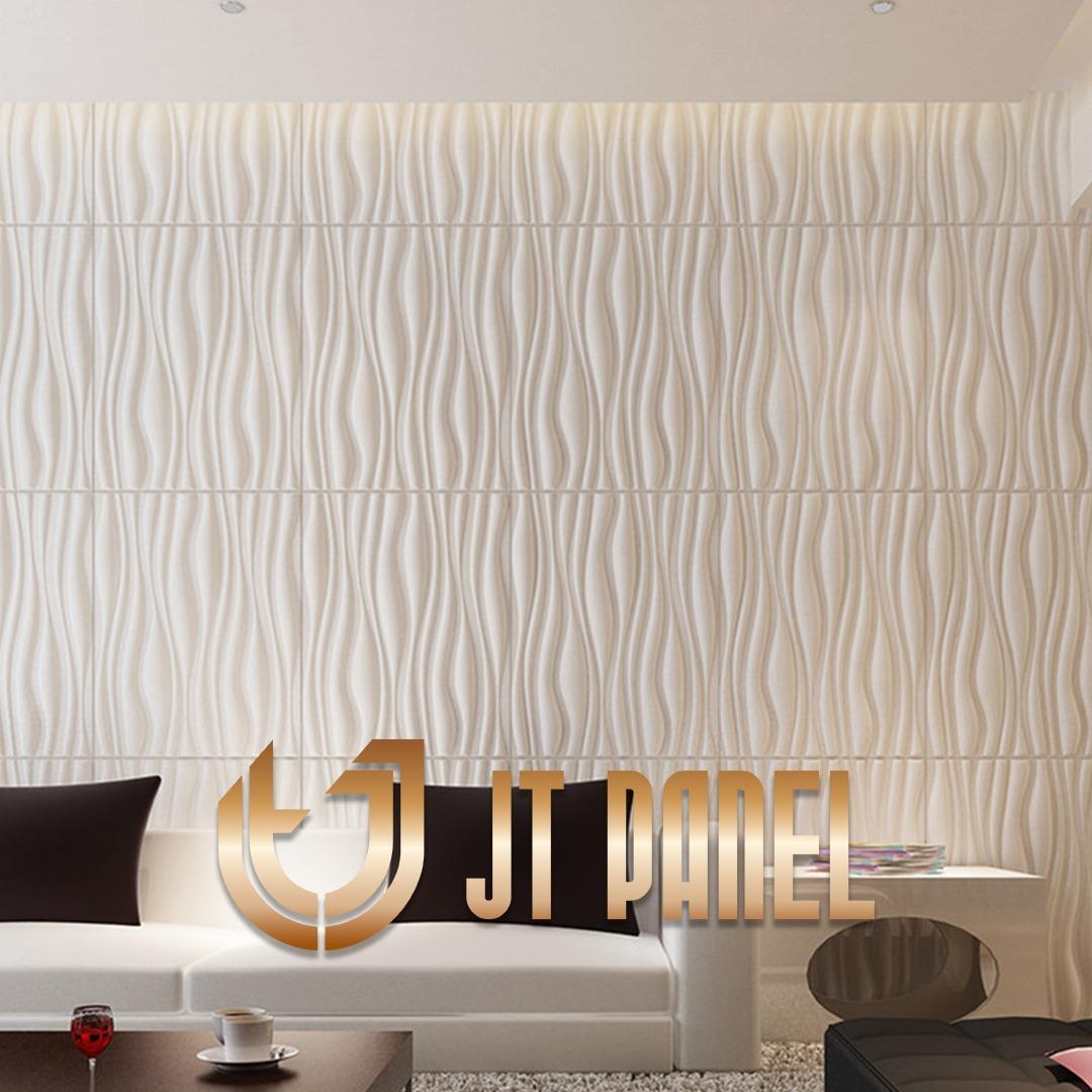 """Wallpaper Dinding 3D """"JT PANEL Slab"""" Per Meter"""