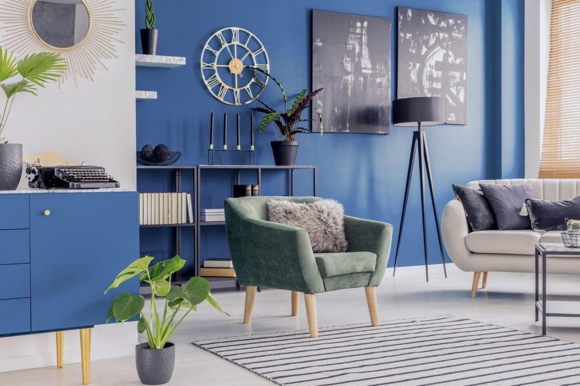 dekorasi blue