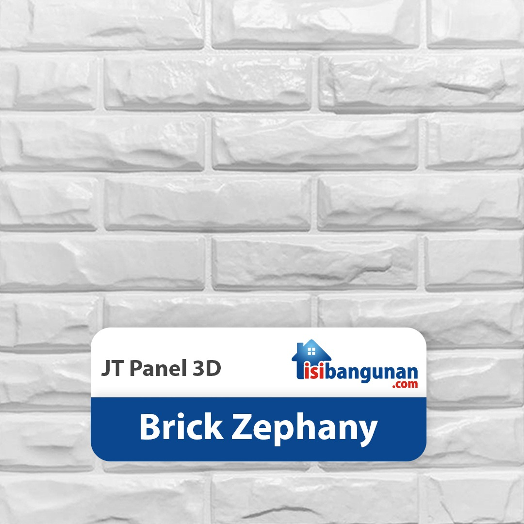 JT Panel 3D PVC - Brick Zephany