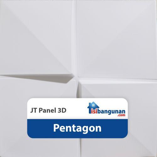 JT Panel 3D PVC - Pentagon