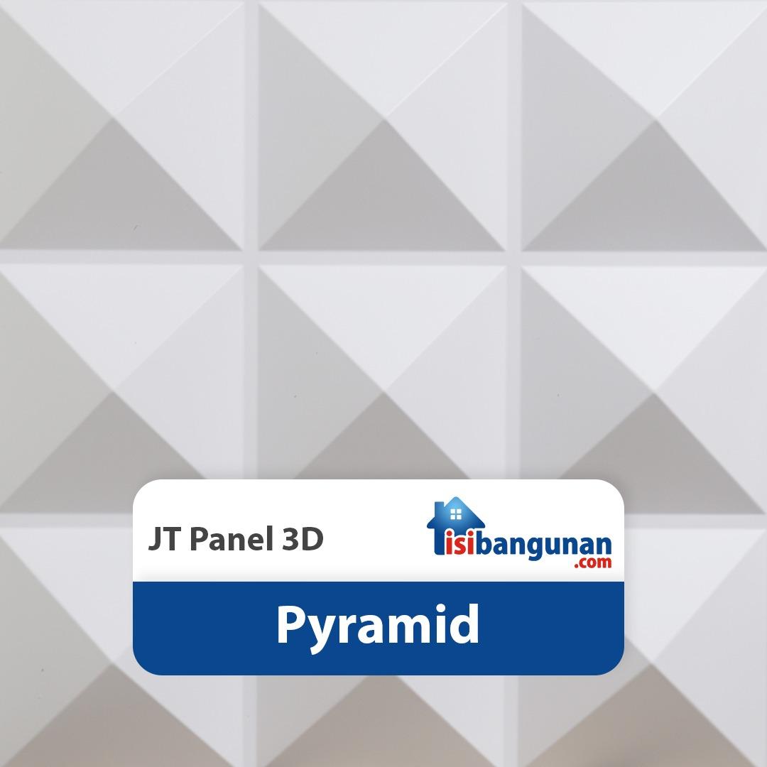 JT Panel 3D PVC - Pyramid